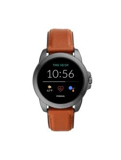 Gen 5e Smartwatch 44mm - Smoke With Brown Leather