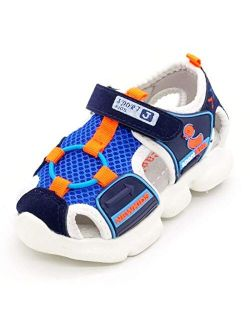 sandals for boys girl Kids Shoes Boys Girls Closed Toe Summer Beach Sandals Shoes Sneakers