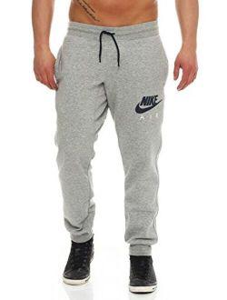 Air Sweatpant Jog Pant Aw77 Heritage Fleece Tracksuit Bottoms Grey 727369 063 New