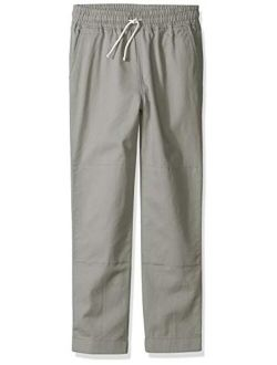 LOOK by crewcuts Boys' Pull on Chino Pant
