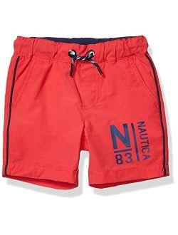 Boys' Mid-length Pull On Shorts