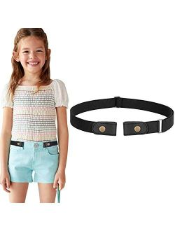 No Buckle Free Belt Stretch for Child Boys and Girls Buckle Free Kids Belt Up to 24 Inches