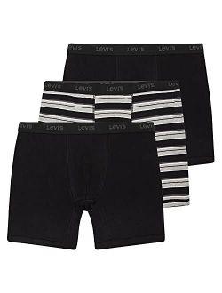 Levi's Mens Underwear Big and Tall Underwear for Men 1X - 6X Mens Boxer Briefs