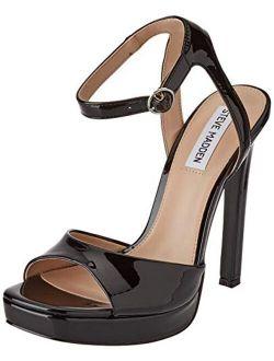Girl's T-strap Heeled Sandal