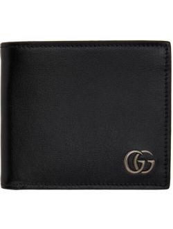 Black Square GG Marmont Bifold Wallet