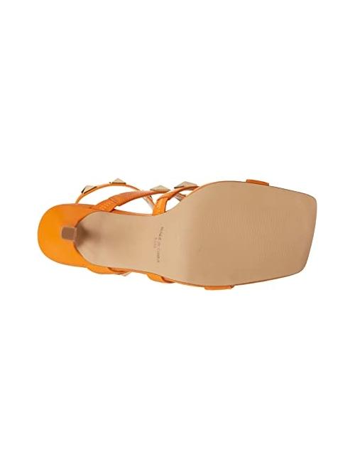 Steve Madden Women's Capri Studded Stiletto Heel Ankle Strap Sandals