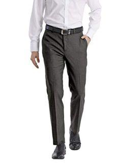 Mens Slim Fit Dress Pant