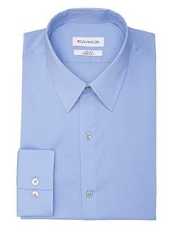 Men's Dress Shirt Xtreme Slim Fit Stain Shield Stretch Solid