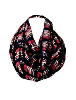 Book infinity scarf Library Bookshelves womens literary gifts nerdy bookworm book lover