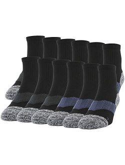 Men's Active Strategic Cushion Ankle Socks, Multipairs