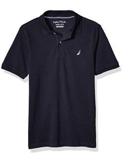 Boys' Short Sleeve Solid Polo