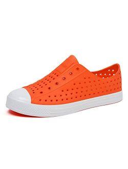 Mens Womens Kids Breathable Water Shoes Beach Sandals Lightweight Slip-on Garden Clogs Sneaker