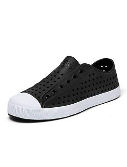 Mens Womens Breathable Garden Shoes Lightweight Quick Dry Clogs Shoes Slip On Sneakers Beach Sport Sandals