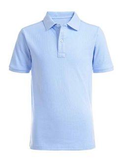 Boys' School Uniform Short Sleeve Pique Polo