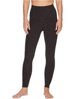 Spacedye Women's Ankle Length High Waisted Midi Leggings