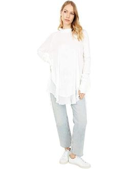 Women's Solid Long sleeves with thumbholes Starlight Tee