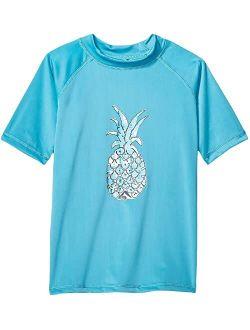 Jade UPF 50+ Sun Protective Rashguard Swim Shirt (Little Kids/Big Kids)