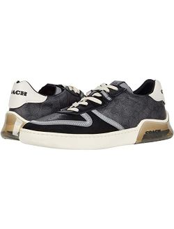 Signature Tech Court Round Toe Low Ankle Sneaker