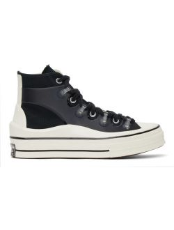 Black Kim Jones Edition Chuck 70 Utility Wave Hi Sneakers
