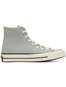 Grey Chuck 70 High Sneakers
