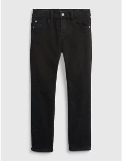 Kids Soft Wear Slim Straight Jeans