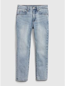 Kids Athletic Taper Jeans with Washwell™