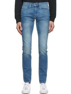 Blue L'Homme Skinny Jeans