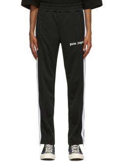 Black Classic Slim Track Pants