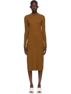 Brown Wool Vico Dress