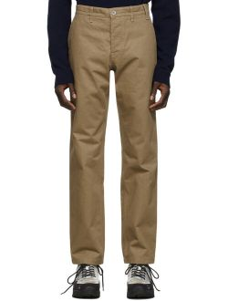 Khaki Heavy Utility Trousers