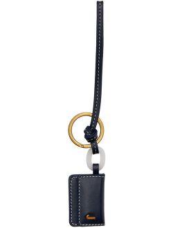 Navy 'Le Porte Clé Riviera' Keychain
