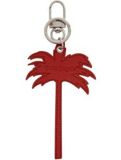 Red Palm Tree Keychain