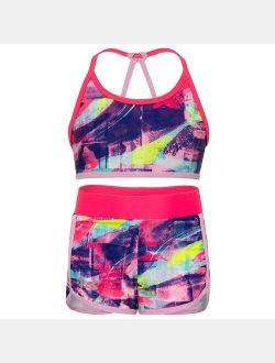 Girls' UA Swirl Bikini Swim Set