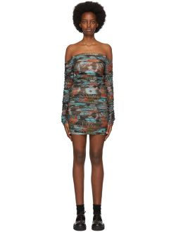 SSENSE Exclusive Blue Romandie Dress