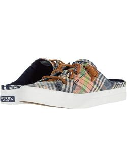 Crest Vibe Washed Plaid Mule Sneaker