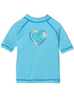 Karlie UPF 50+ Sun Protective Rashguard Swim Shirt (Little Kids/Big Kids)