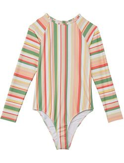 Colorful Party Long Sleeve One-Piece (Big Kids)