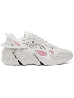 Off-White & Pink Cylon-21 Sneakers