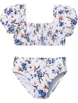 Floral Two-Piece Swimsuit (Toddler/Little Kids/Big Kids)