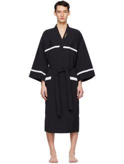 Black Night Gown Robe