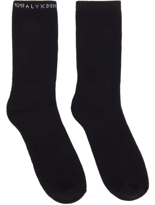 Three-Pack Multicolor Logo Socks