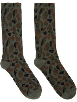Khaki Military Camo Socks