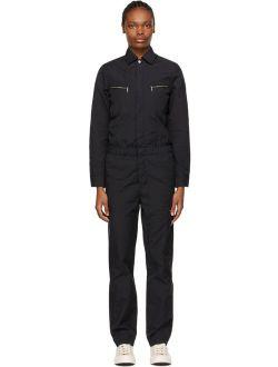 CARHARTT WORK IN PROGRESS Black Boiler Jumpsuit