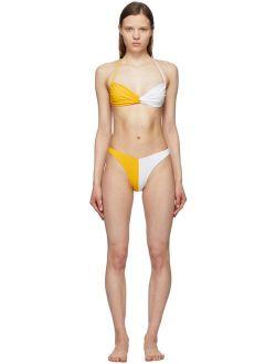 Gil Rodriguez Yellow & White Isla Margarita Bikini