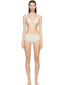 Off-white Cotton Crochet Bikini