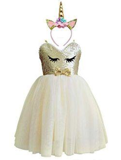 Princess Dresses for Girls Dress up Clothes for Little Girls Unicorn Dresses for Little Girls Tutus for Girls
