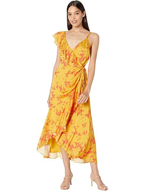 Ted Baker Saraaa Ruffle Midi Wrap Dress