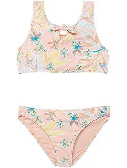 Kids Friendly Story Crop Top Set Swimsuit (toddler/little Kids/big Kids)