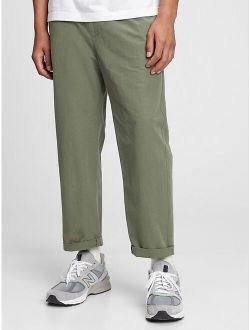 Axed Taper E-waist Pants With Gapflex