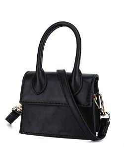 CATMICOO Mini Purse for Women, Mini Bag with Crocodile Pattern